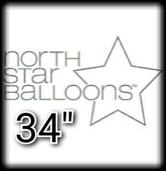 "North Star 34"" Letter Foil Balloons"