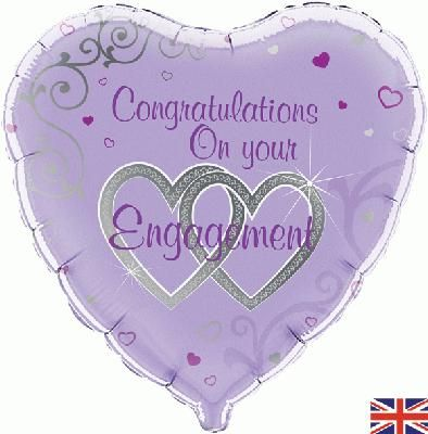 Oaktree 18inch Congratulations on your engagement