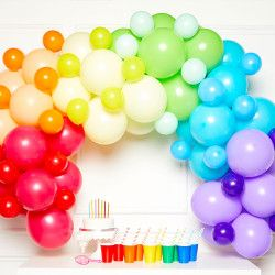 PRIMARY DIY GARLAND BALLOON KIT (CONTAINS 78 BALLOONS)