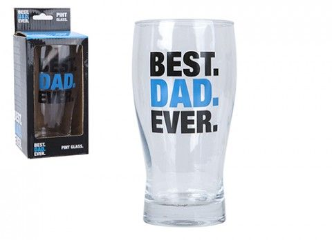 PRINTED DAD PINT GLASS
