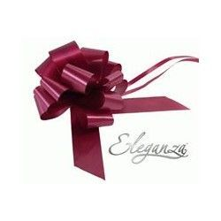 Pull Bows 50mm x 20ct Burgundy