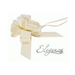 Pull Bows 50mm x 20ct Ivory