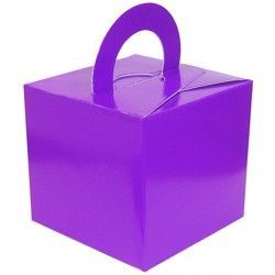 PURPLE BOUQUET BOX 10CT