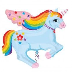 RAINBOW UNICORN STREET TREAT SHAPE FLAT