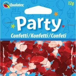 RED HEARTS CONFETTI 12G (1CT X 6 PACKS)