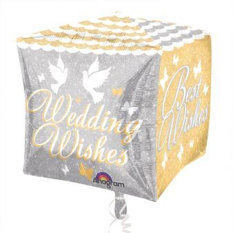 Shimmering Wedding Wishes - Cubez