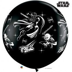 STAR WARS DARTH VADER & YODA 3' ONYX BLACK (2CT)