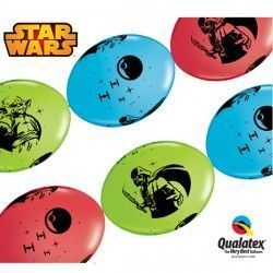 "STAR WARS QUICK LINK 12"" RED, L/GREEN & ROBIN'S (50CT)"
