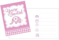 SWEET ELEPHANT PINK INVITES