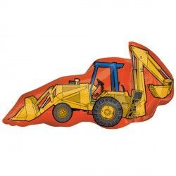 TRACTOR WITH SCOOP STREET TREAT SHAPE FLAT