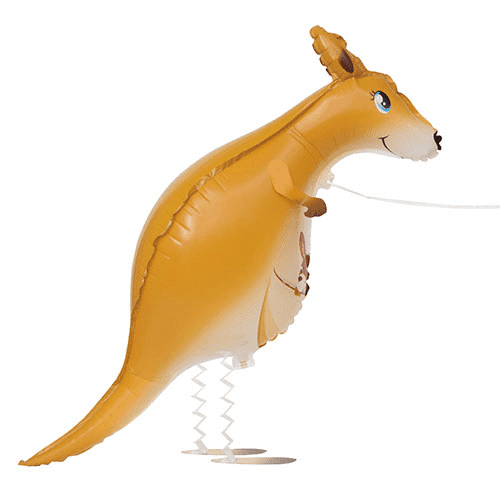 Walking Pet Kangaroo Foil Balloon