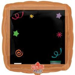 Wood Frame Blackboard Jumbo Write-On